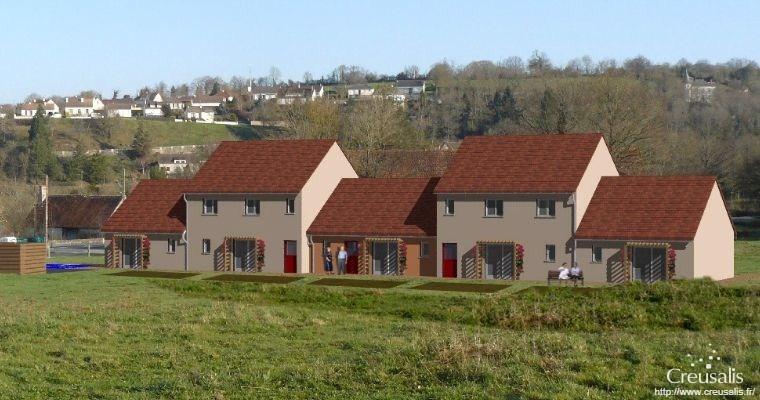 Creusalis projet maisons accueil la celle dunoise 1